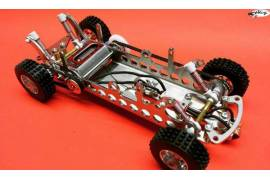 Ready to run Basic raid slotcar chassis