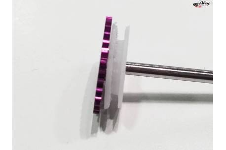 Polea 3D tras. 11 mm. para coronas Scaleauto