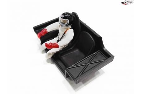 Cockpit + driver Porsche 936