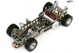 Ready to run PRO Evo 1 raid slotcar chassis