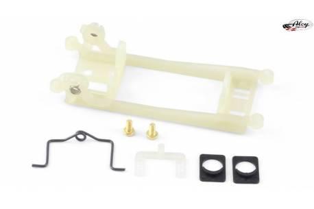 Long Inline motor mount 1.0mm offset Boxer/Flat - HARD