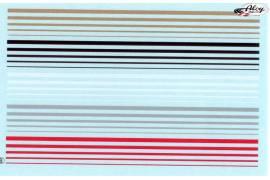 Calca filetes de colores