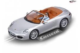 Porsche 911 Carrera S Cabrioler Silver color