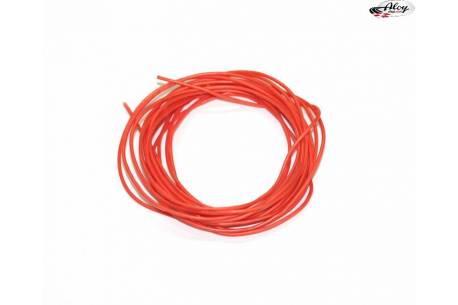 Superfine silicone cable 1mm - Orange