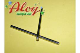Shaft steel hardened 50mm 3/32 (x 2)