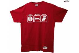 "Camiseta  ""Eat, Sleep, Slot"""