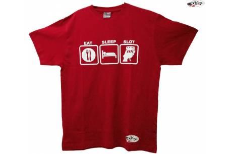 """Camiseta  """"Eat, Sleep, Slot"""""""