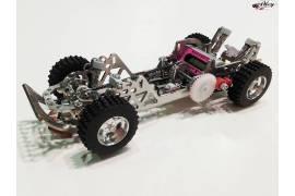 Panda Raid slot chassis ready to run