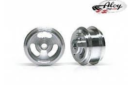 Aluminium Wheels 15.8 x 8 mm
