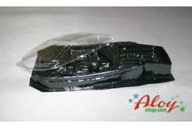 Interior and crystals lexan Lamborghini Gallardo speed 1:32 NC