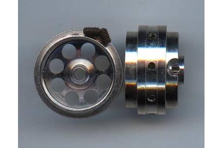 Aluminium lightened wheels 3/32 (2units)