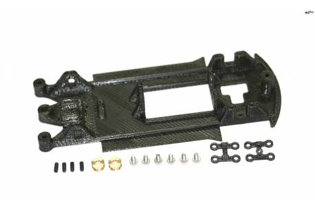 Chassis 3D EVO in line Ford Fiesta WRC Scalextric/SCX