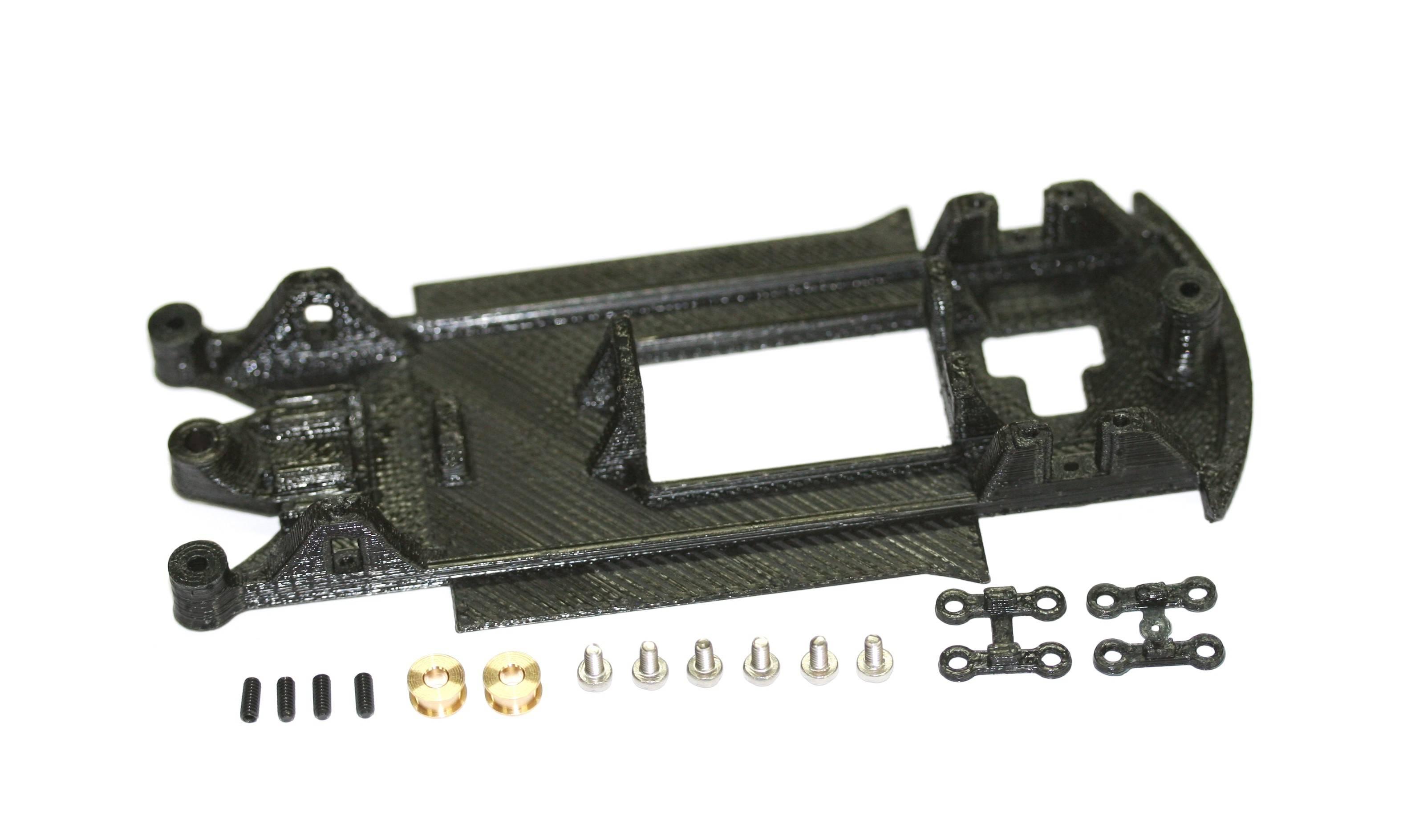 Elektrisches Spielzeug Scalextric Chassis Ford Fiesta Wrc