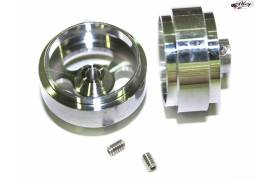 Aluminium front truck wheels