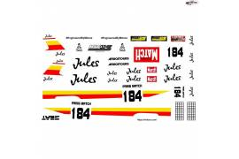 Jules decals