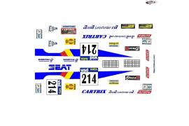 RACE decals