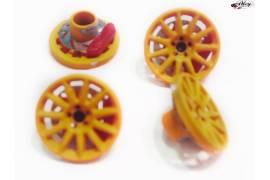 Rally cover 16,5 mm. naranja