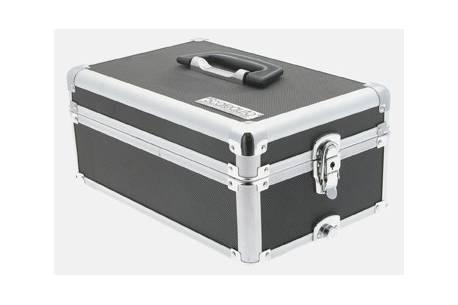 Aluminum briefcase  Slot Box car transport