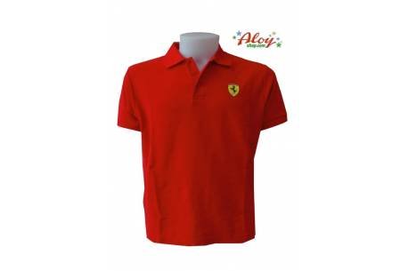 Ferrari red T.XXL Polo