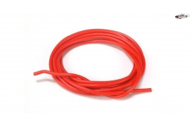 Cable 1mm. Silicone red