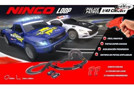 Ninco Loop Police Patrol 1/43 Circuit