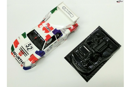 Body BMW M1 Wurth + cockpit lexan