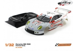 Body Porsche 991 RSR nr 911 24 h. Daytona 2014 with lexan