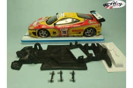 AW angular chassis Black 3DP Ford Sierra Ninco
