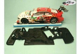 AW angular chassis Black 3DP Ferrari 360 Ninco speed track version
