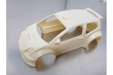 Citroën C2 S1600 (Kit carrocería en resina para pintar) 1/24