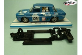In Line chassis Black 3DP Renault 5 Maxi Turbo SCX