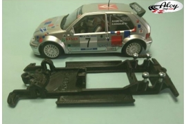 In Line chassis Black 3DP Renault Clio S1600 Ninco