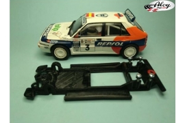 Chasis lineal 3DP Lancia Delta Integrale Scalextric