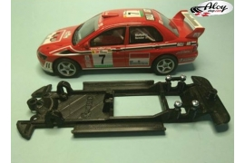 In Line chassis Black 3DP Ford Escort RS Cosworth SCX