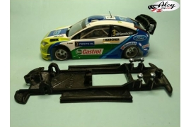In Line chassis Black 3DP Fiat Punto S1600 Ninco