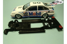 In Line chassis Black 3DP Peugeot 307 WRC Ninco