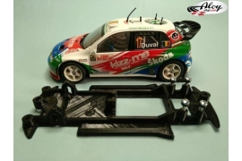 In Line chassis Black 3DP Ford Sierra Ninco