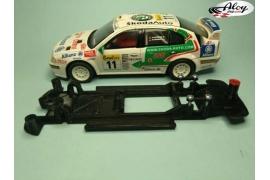 In Line chassis Black 3DP Subaru Impreza 2003/2007 WRC SCX