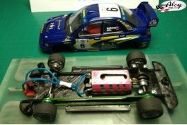 Chasis lineal Black 3DP Subaru Impreza WRC 2003 Ninco