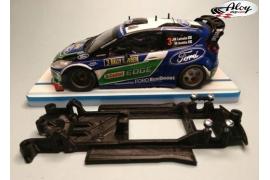 In Line chassis Black 3DP Citröen Xsara WRC SCX