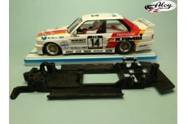 In Line chassis Black 3DP Polo WRC Scalextric