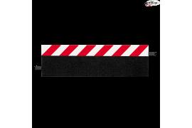 Edge strip for straight line