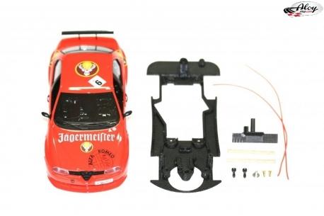 Chasis 3DP EVO para Alfa 156 GTA Fly bancada Slot.It