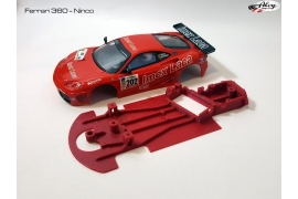 Chasis en angulo 3DP Ferrari 360  NINCO