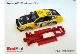 Chasis en línea 3DP Alpine A310 Team Slot