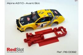 AW angular chassis Alpine A310 Team Slot