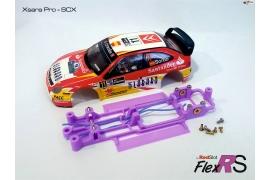 Chasis en línea 3DP Flex RS Ford RS200 MSC/Scaleauto