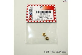 "Brass bearing double lip 3/32 ""(2.38 mm)"