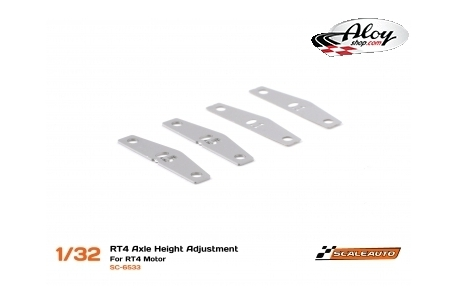 RT4 spacers for rear axle