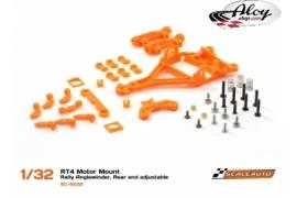Soporte motor AW RT4 Rallye eje trasero ajustable